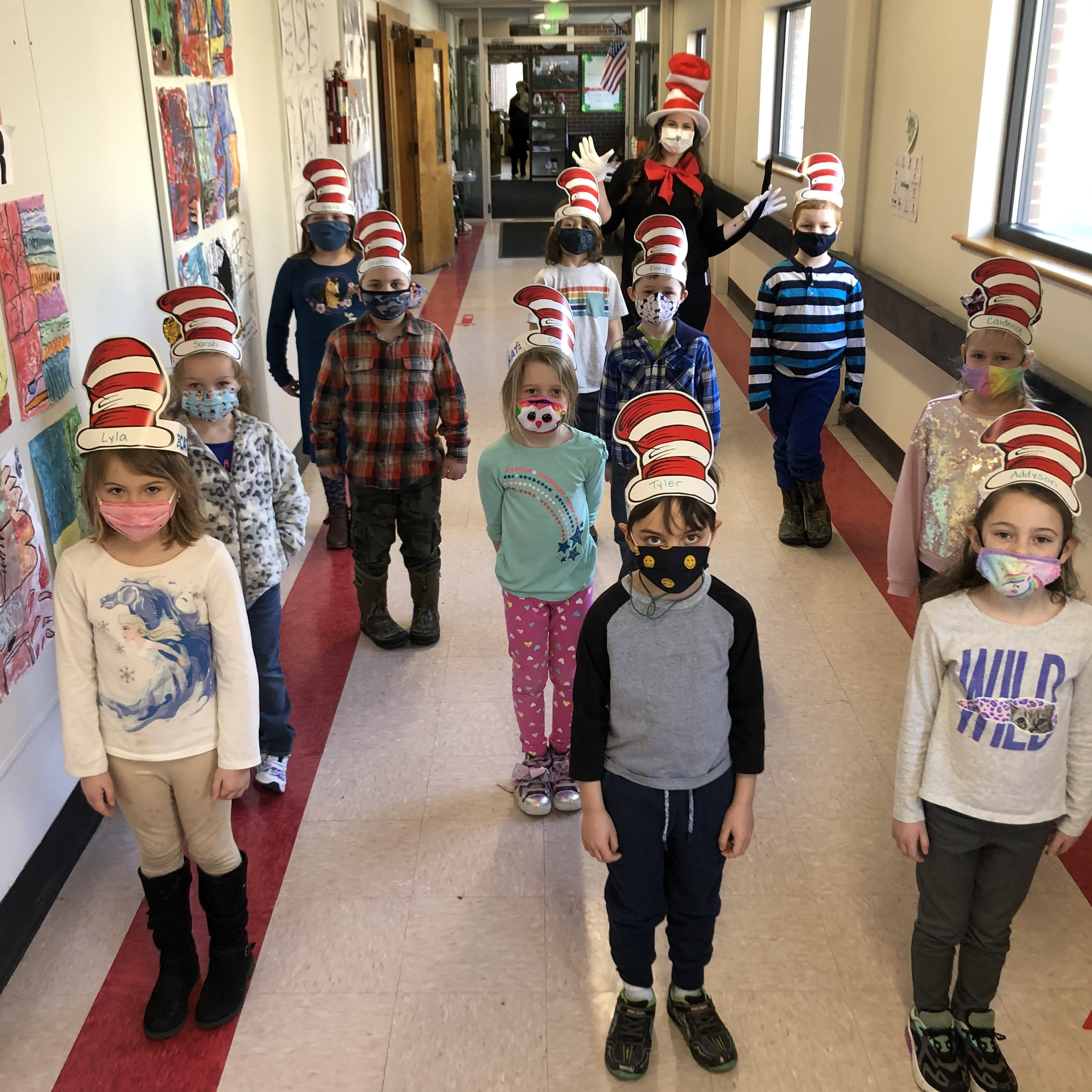 Dr. Suess Week at WES